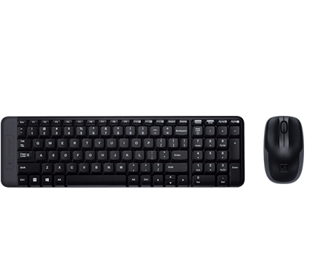 Product Image of MK220 Wireless Keyboard and Mouse Combo
