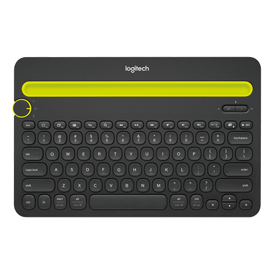 Product Image of Bluetooth Multi-Device Keyboard K480