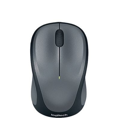 Wireless Mouse M315 and M235 Grey sku top shot