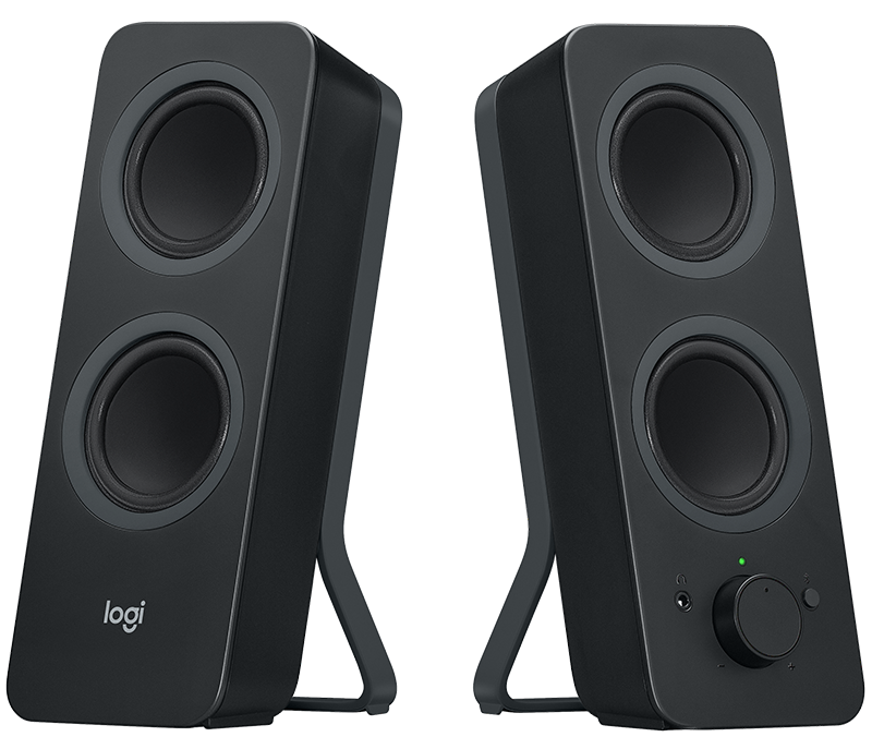 Z207 Bluetooth Speakers Angle View