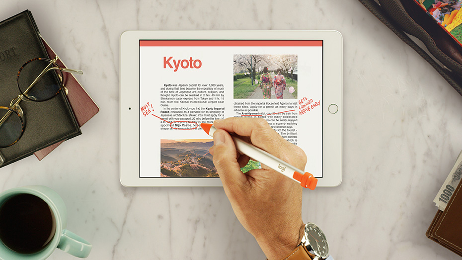 Annotate documents on iPad with Crayon