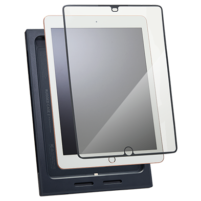 Product Image of Rugged Combo Screen Protector for <span class='lowerCase'>iPad</span> (5th and 6th gen) - 10 pack