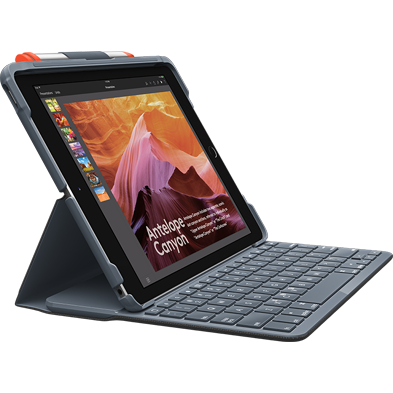 Product Image of SLIM FOLIO FOR <span class='lowerCase'>iPad</span> (5TH AND 6TH GENERATION)