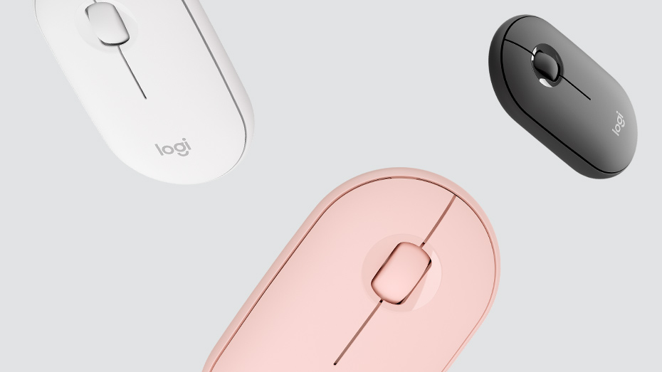 Logitech Pebble M350 - The Right Colour for You