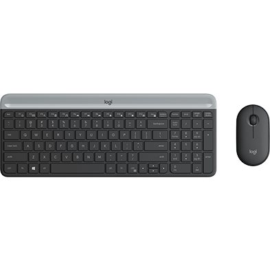 Produktbilde av Slim Wireless Keyboard and Mouse Combo MK470
